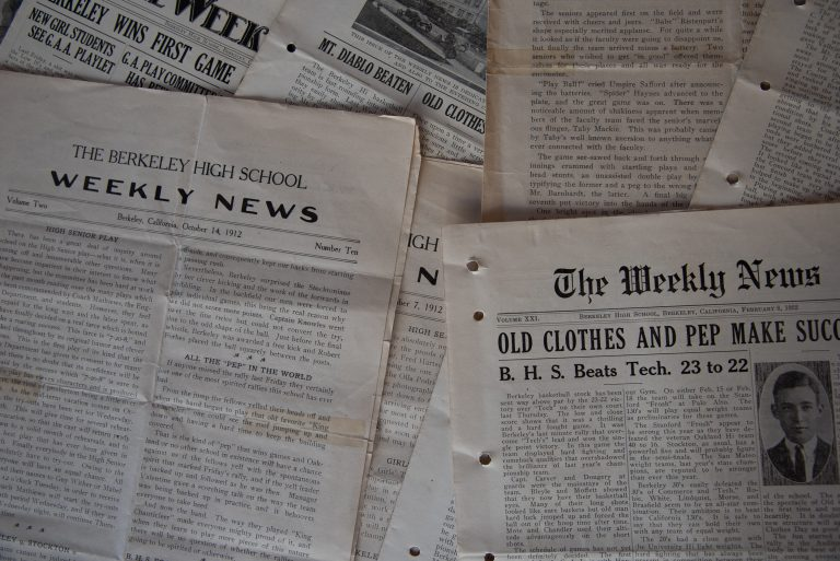 """The Jacket was called """"The Weekly News"""" when it launched in 1912"""